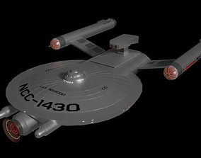 Insurgent Class Corvette 3D model