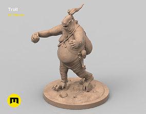 Troll figure 3D printable model