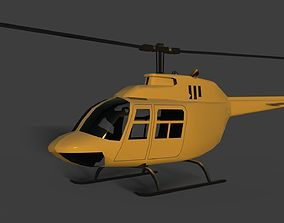 3D chopper Helicopter