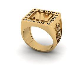 einundzwanzig 21 ring 3D print model