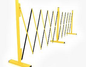3D Folding barrier