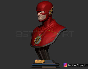 3D printable model The Flash Bust