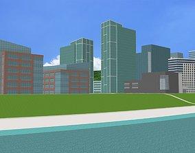 Amaryllis City 3D model