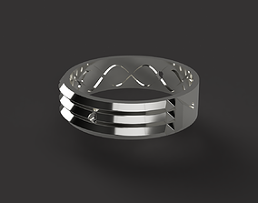 3D printable model Atlantis Ring
