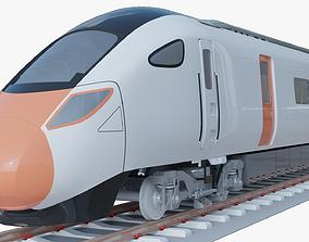 3D model Hitachi Azuma train