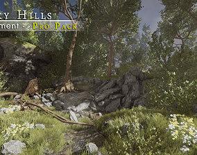 Rocky Hills Environment - Pro Pack 3D asset
