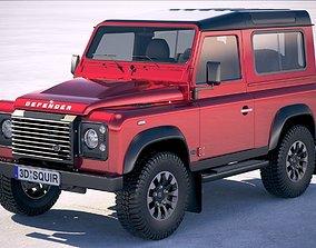 3D model Land Rover Defender Works v8 2018
