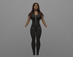 3D model Jumpsuit