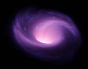Wormhole Galaxy 3D model