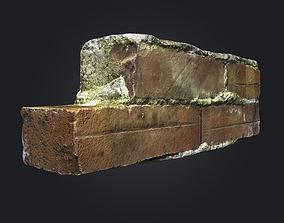 Scanned Brick Wall Debris - 001 3D model