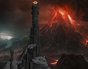 Dark tower 3D model