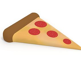 3D asset Pizza Slice