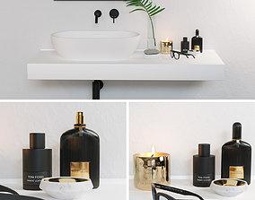 Bath decor Tom Ford 3D model architectural
