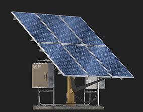 3D collector Solar panel