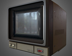 CCTV Monitor 3D asset