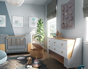 3D model SMALL BABY ROOM