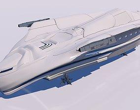 3D spaceship interplanetary aircraft
