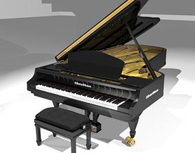 Piano Model 3D