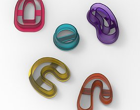 POLYMER CLAY EARRINGS CUTTER 3D printable model