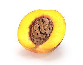 PEACH 3D model fruit