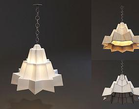 3D model Triangle Lamp