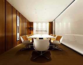 Conference room office reception hall 35 3D
