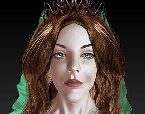 3D model VR / AR ready Meryem Uzerli