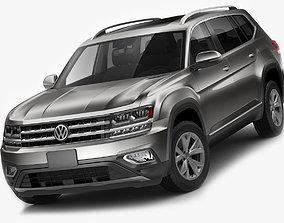 Volkswagen Atlas Teramont 2017 3D