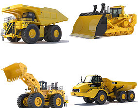 3D 793d Collection Mining Machines 1