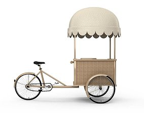 3D Delivery Bicycle