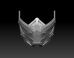 Sub Zero mask for cosplay Mortal Kombat 11 MK 3D 1