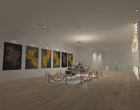 Gallery - Showroom Environment 3D asset
