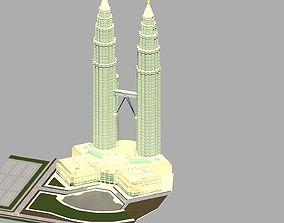 3D model KLCC Site