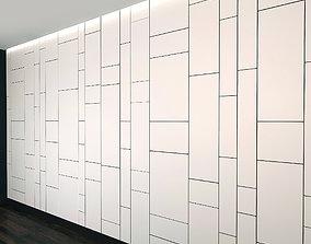 Wall Panel Set 22 3D model