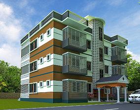 EXTERIOR HOUSE 1 3D model