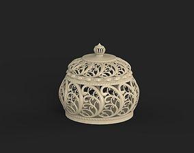 3D print model ornamental basket