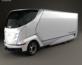 3D Mitsubishi Fuso Concept II Truck 2012