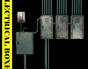 Electrical boxes 3D model