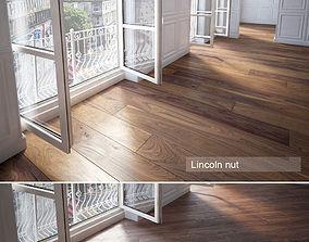 Wooden floor tile 3D