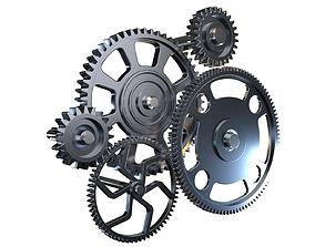 Gear mechanism v2 3D