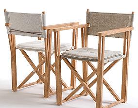 3D model Chair Skargaarden kryss