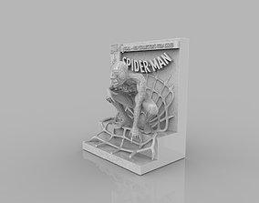 Spider Man Comic Book Statue 3D printable model