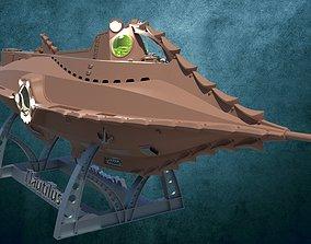 Nautilus without rivets 3D print model diving