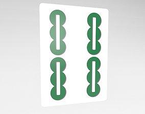 Mahjong v1 027 3D model