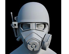 NCR Ranger Helmet helmet 3D printable model