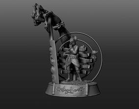 3D print model sasuke susanoo