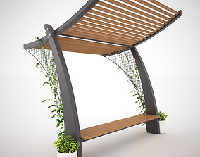 Bench or Table Set with Shelter - MODEL 2