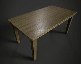 3D asset Table Model -Textures