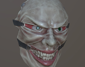 3D model Joker mask