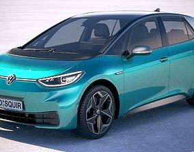 Volkswagen ID3 2020 VRAY 3D